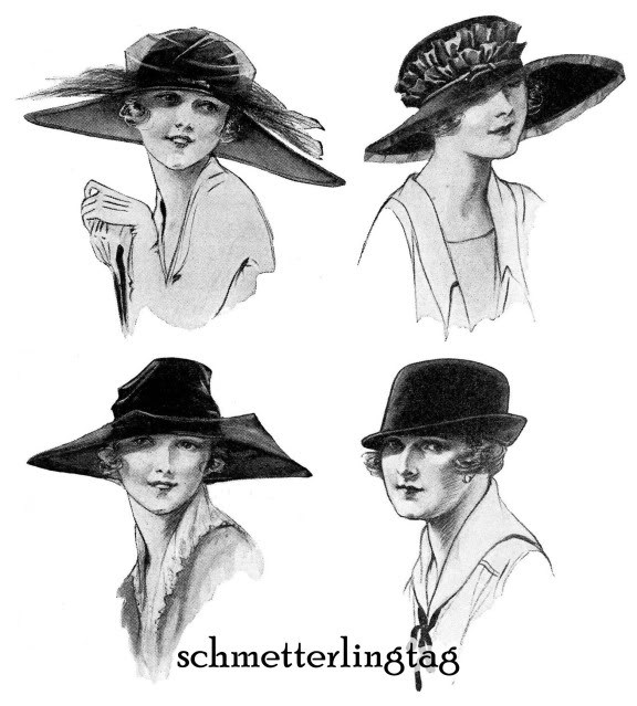 1920 Millinery Book Make Flapper Era Hat Styles Making Hats Milliner DIY Guide image 3