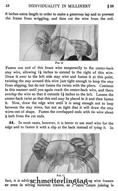 1920 Millinery Book Make Flapper Era Hat Styles Making Hats Milliner DIY Guide image 5