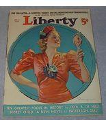 Liberty Magazine April 3, 1937 Cecil B. De Mille - $12.00