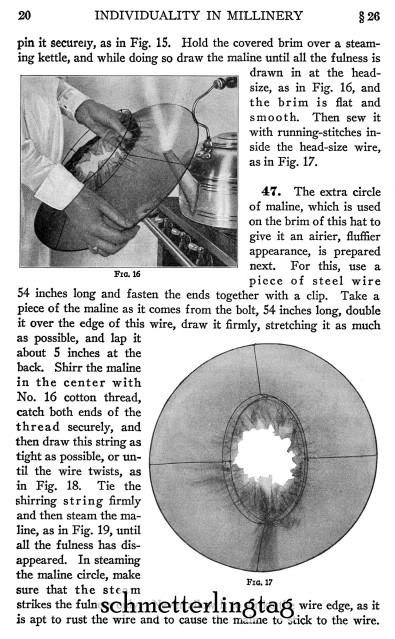 1920 Millinery Book Make Flapper Era Hat Styles Making Hats Milliner DIY Guide image 6