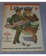Liberty Magazine March 27,1937 Mancuso Baseball - $11.95