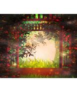 Wonderland Background--Digital clipart-Clip Art - $3.85