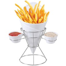 Gourmet By Starfrit(R) 080807-006-0000 French Fry & Dip Serving Dish - £22.17 GBP