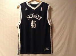 Adidas Mens NBA Brooklyn Nets Basketball Jersey, Size XL image 1