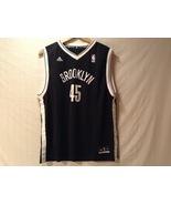 Adidas Mens NBA Brooklyn Nets Basketball Jersey, Size XL - $39.99