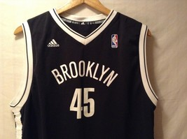 Adidas Mens NBA Brooklyn Nets Basketball Jersey, Size XL image 3