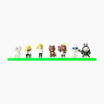 Korea Naver LINE Friends Mini Figure Set 3 (7pcs) Toys Character Desktop... - €21,33 EUR