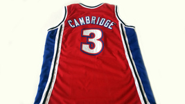 Calvin Cambridge #3 Los Angeles Knights New Men Basketball Jersey Red Any Size image 2
