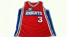 Calvin Cambridge #3 Los Angeles Knights New Men Basketball Jersey Red Any Size image 4