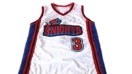 Calvin Cambridge #3 Los Angeles Knights Basketball Jersey New White Any Size image 4