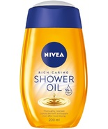 Nivea Natural Oil Shower Oil 200 ml For Dry Skin - $9.90