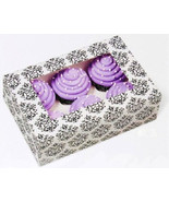 Wilton Large Cupcake Boxes 6 Cavity Natural Bakery Window Box Decorative... - $16.95