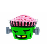 Frankenstein Cupcake Wraps Liners 12 pk Monster Green Zombie Cakes Wilto... - $19.95