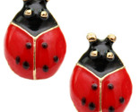 Red small mini ladybug stud earrings  41730 thumb155 crop