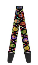 Guitar Strap - Thaneeya Sugar Skulls Repeat Logo - $22.99