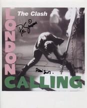 The Clash Paul Simonon & Pennie Smith SIGNED Photo + COA Guarantee - $148.99