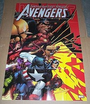 Avengers Marvel Comics promo poster 1: Hawkeye/Iron Man/She-Hulk/Captain America - $29.69