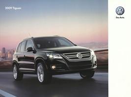 2009 Volkswagen TIGUAN sales brochure catalog US 09 S SE SEL - $9.00