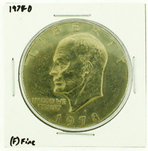 1978-D Eisenhower Dollar RATING: (F) Fine (N2-4297-22) - £2.37 GBP