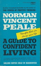 A GUIDE TO CONFIDENT LIVING BY NORMAN VINCENT PEALE;Thoughts That Can Ch... - $4.97