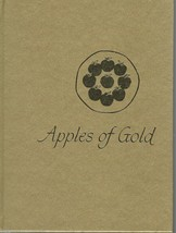 APPLES OF GOLD Compiled By Jo Petty;Inspirational Words;Hardcover Gift B... - $29.97