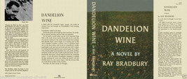 Ray Bradbury DANDELION WINE fac. jacket for 1st ed - $19.95