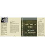 Ray Bradbury DANDELION WINE fac. jacket for 1st ed - $19.95