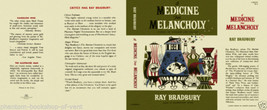Ray Bradbury A MEDICINE FOR MELANCHOLY facsimile dust jacket for 1st ed.... - $21.56