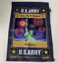 United States Army This We'll Defend Garden Flag 12x18 Statue Liberty St... - $14.54
