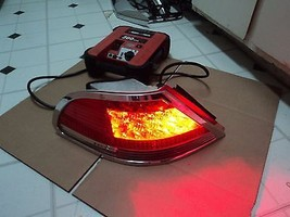 03 Bmw 750 Li Driver Left Led Tail Light  With Crome Moulding. - $118.80