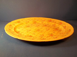 "SALEM CHINA BONJOUR CHINTZ 13"" SERVING PLATTER - MADE IN AMERICA - $19.98"