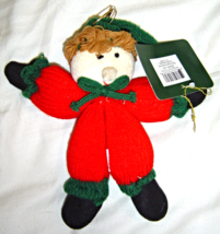 New Studio 33 Stuffed Yarn Elf Ornament Hearth and Home Designs NWT - $8.99