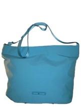 TOMMY HILFIGER Sport Training Scuba Nylon Messenger Bag Purse, Aqua Blue, $118 - $50.00