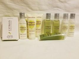 Crabtree & Evelyn Citron Honey Coriander Cleansing Bath Bars Travel Cond... - $24.74