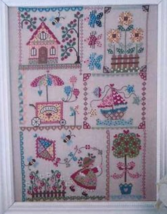 Summer In Quilt cross stitch chart Cuore e Batt... - $12.60