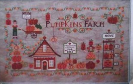 Pumpkins Farm cross stitch chart Cuore e Batticuore  - $12.60