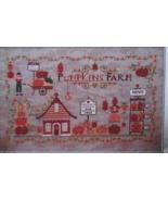 Pumpkins Farm cross stitch chart Cuore e Batticuore  - $12.60