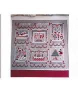 Album Di Natale cross stitch chart Cuore e Batticuore  - $16.20