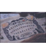 Witch Board cross stitch chart Cottage Garden Samplings - $9.00