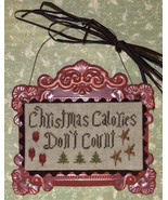 Christmas Coloreis Don't Count cross stitch chart Abby Rose Designs - $7.20