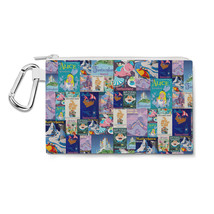 Fantasyland Disney Inspired Canvas Zip Pouch - $15.99+