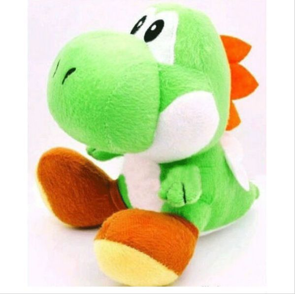 Plush doll Yoshi Toys  Dolls with suction gifts for Children 17cm