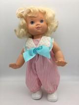 Baby Wanna Walk Doll 1991 Vintage Hasbro Original Outfit Walks Crawls Works - $24.95