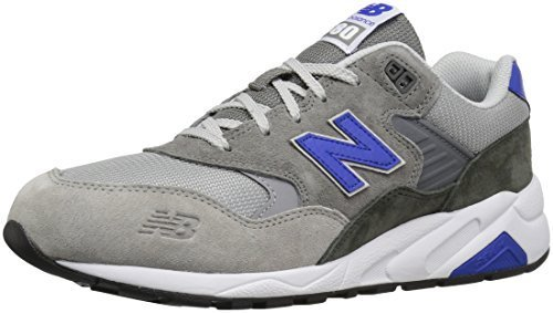 New Balance Men's 580 Lost Classics Pack Fashion Sneaker, Grey/Blue, 8 D US
