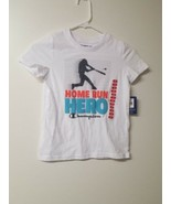 Champion Youth Boys Home Run Hero Shirt, White,  Sz. 7/8 - $9.74