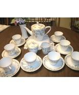 ANtique   COFFEE/Tea  Set for 8  K&A Krautheim ... - $94.99