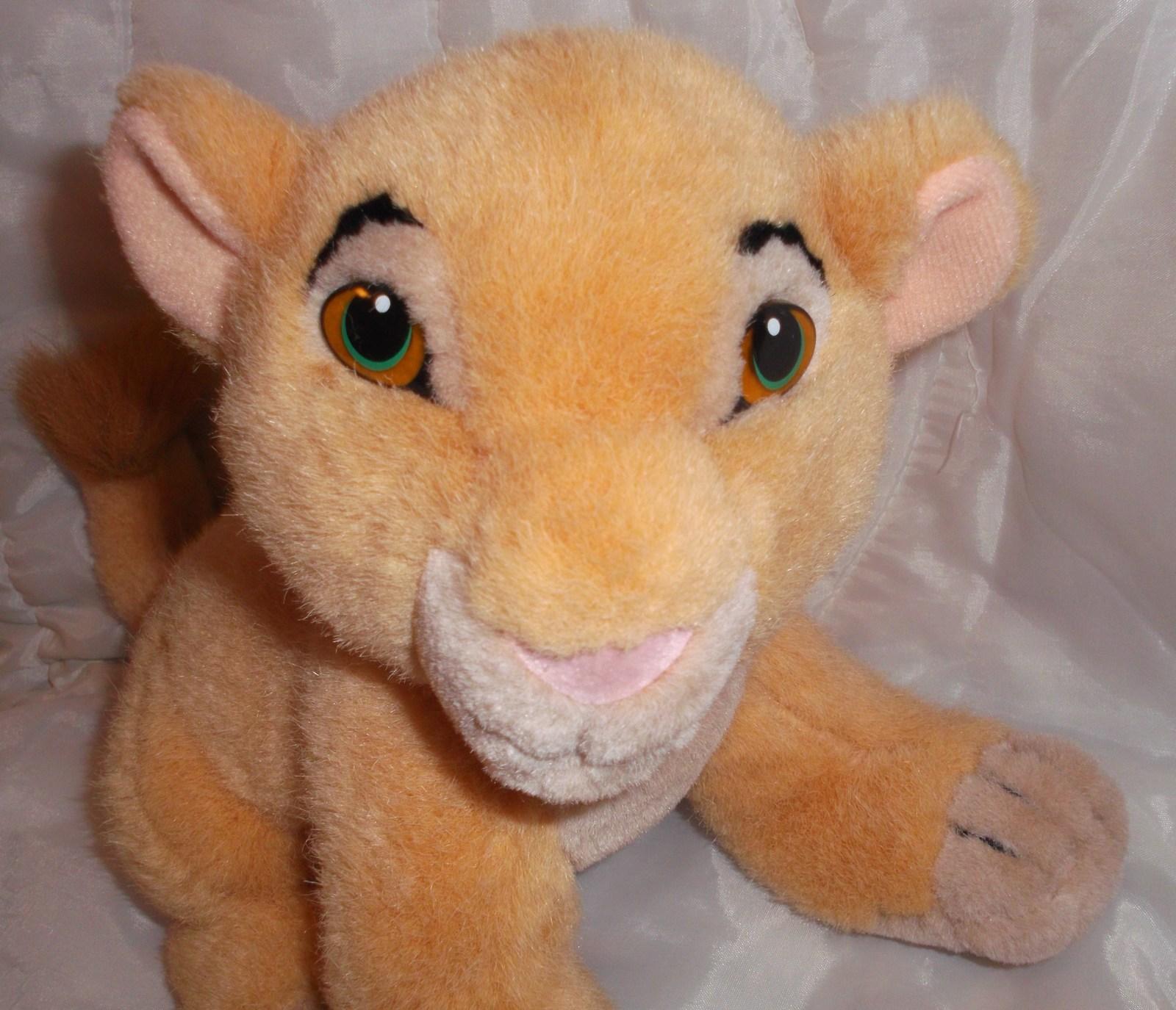 Disney The Lion King Young Simba Cub Stuffed Plush Nala 9