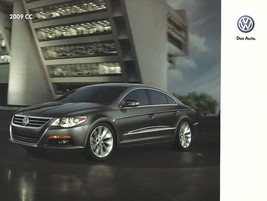 2009 Volkswagen CC sales brochure catalog US 09 VW 2.0T Passat - $9.00