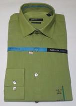 Van Heusen Men's Slim Fit Lichen Green Color Shirt Size 14.5 32/33 - $17.99