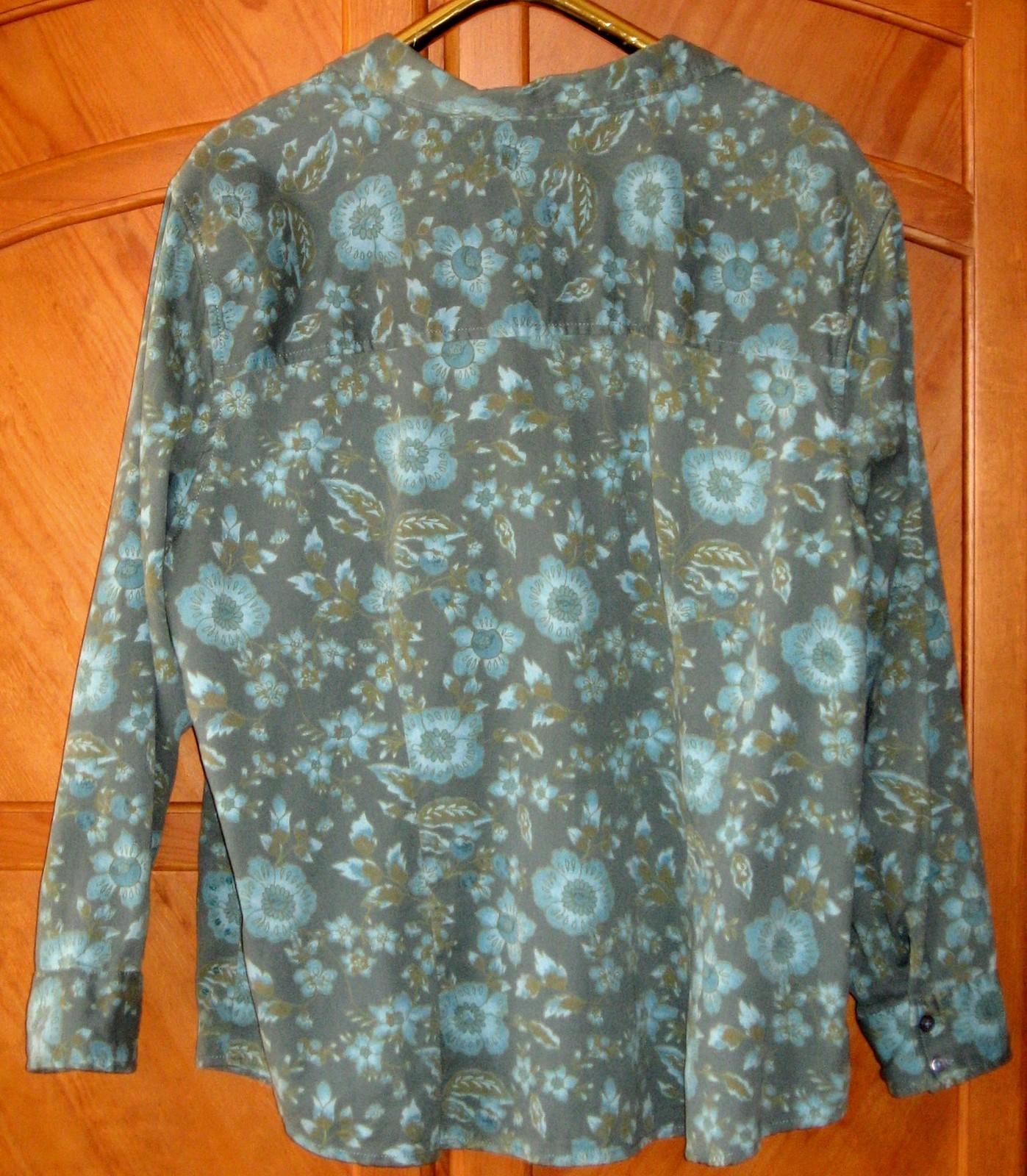 "CJ Banks Long-Sleeve Corduroy Shirt, 54"" Bust, 2X"